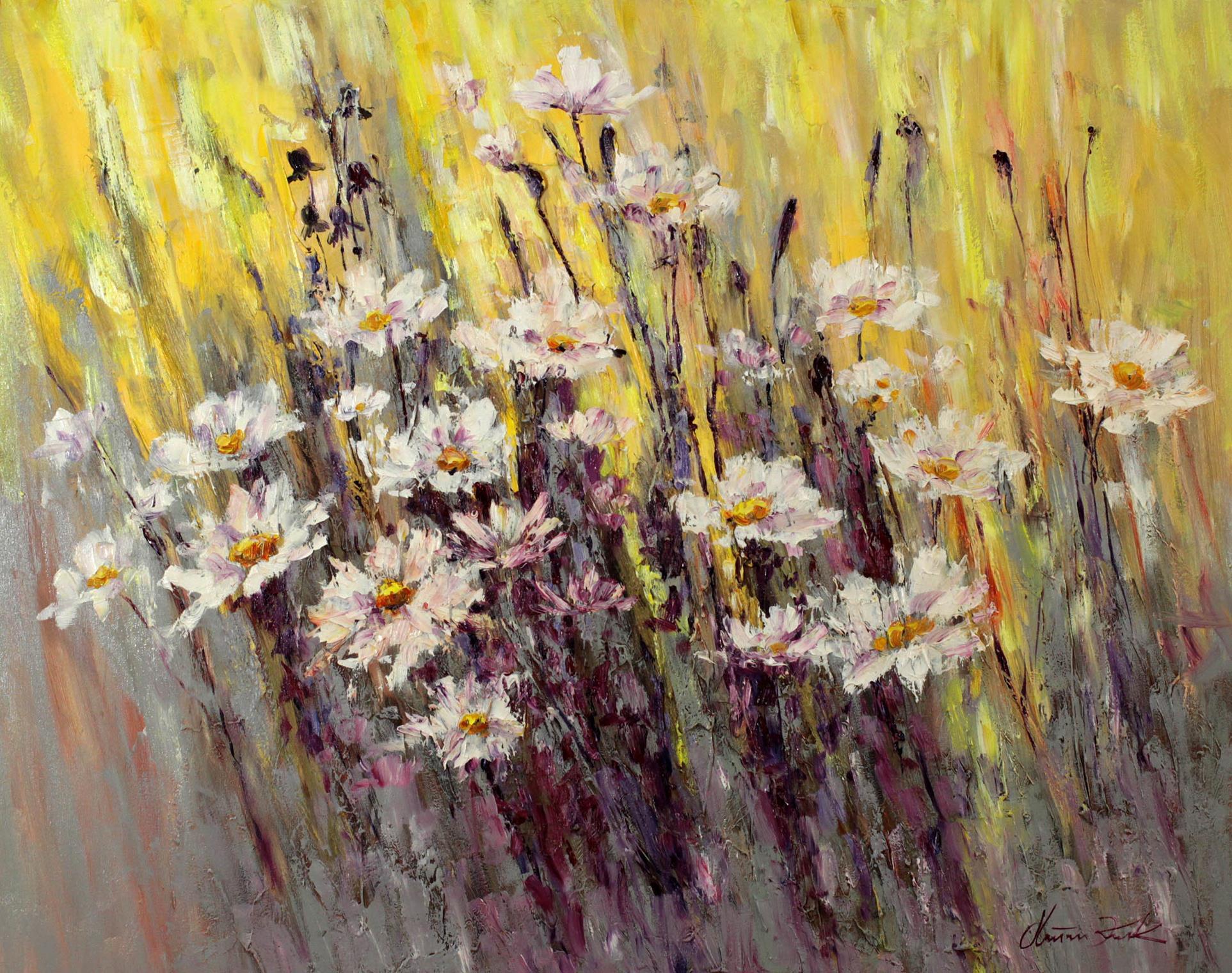 Poranek w kwiatach