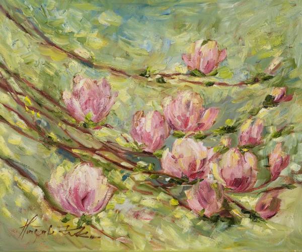 Gałązka magnolii