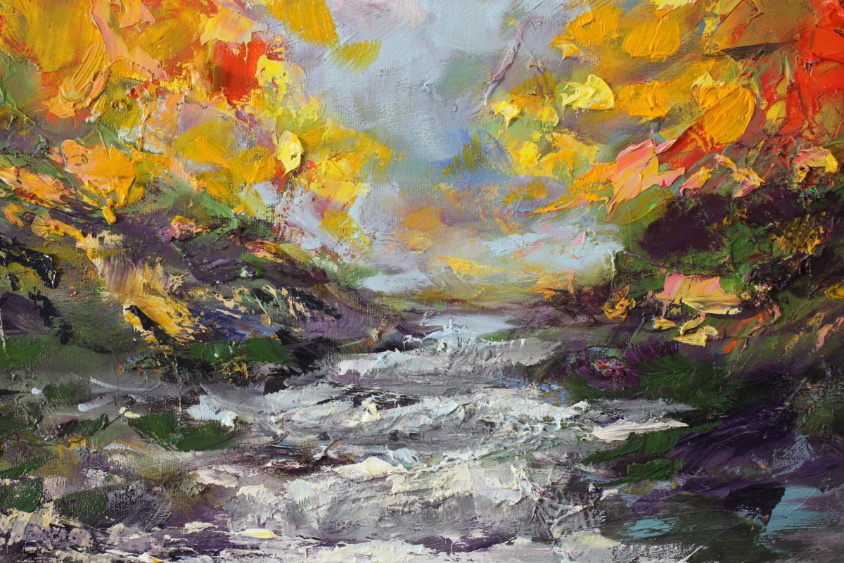Jesienny Wodospad