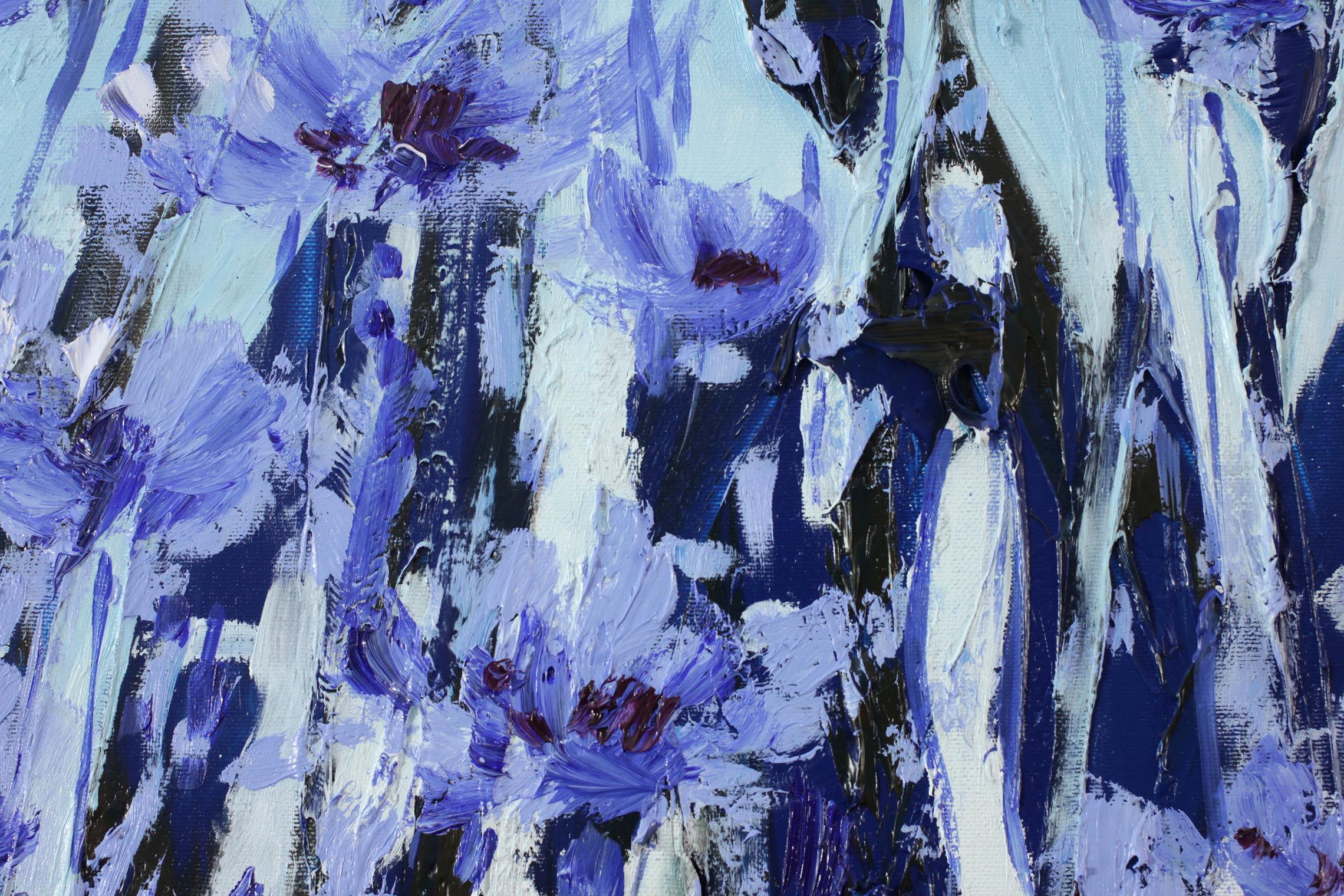 Cykl obrazów: Shadow of herbs - Flamenco