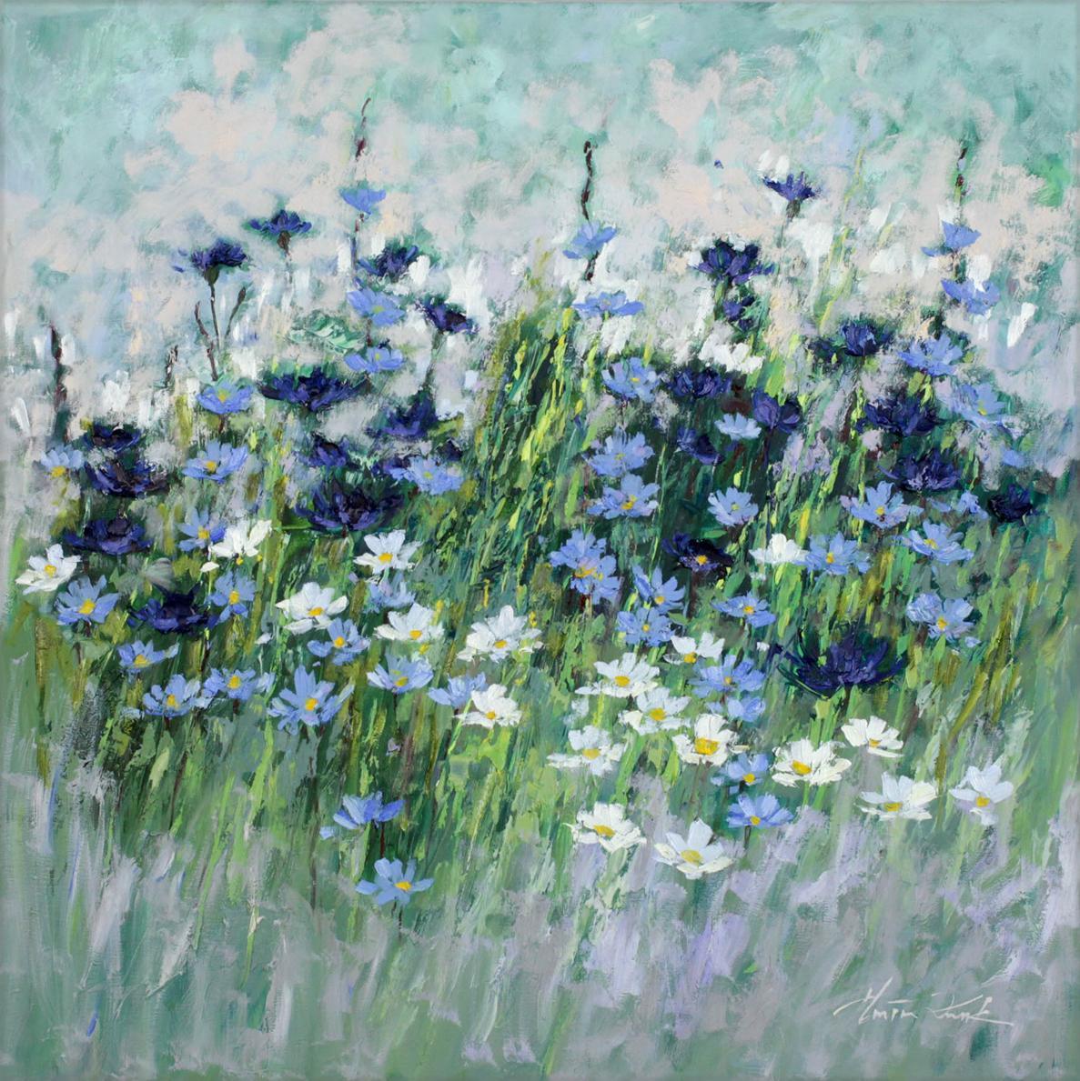 Kwiatowa Impresja Niebieska