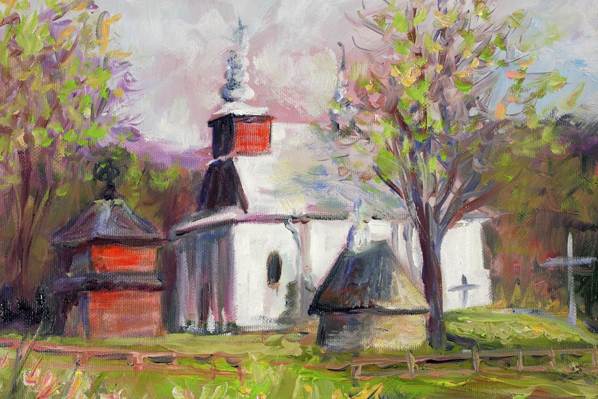 Cerkiew w Łopience
