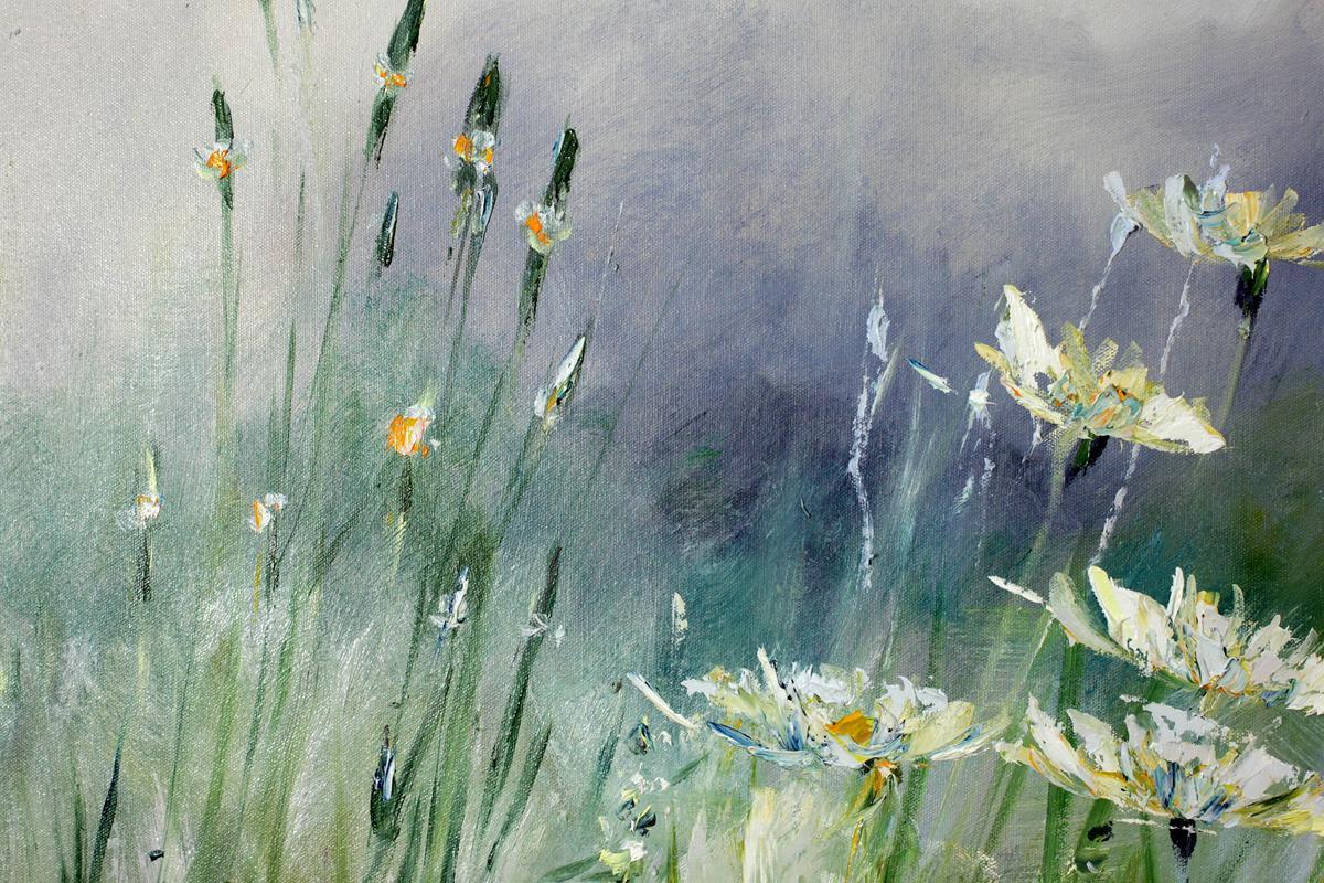 Trawy po deszczu