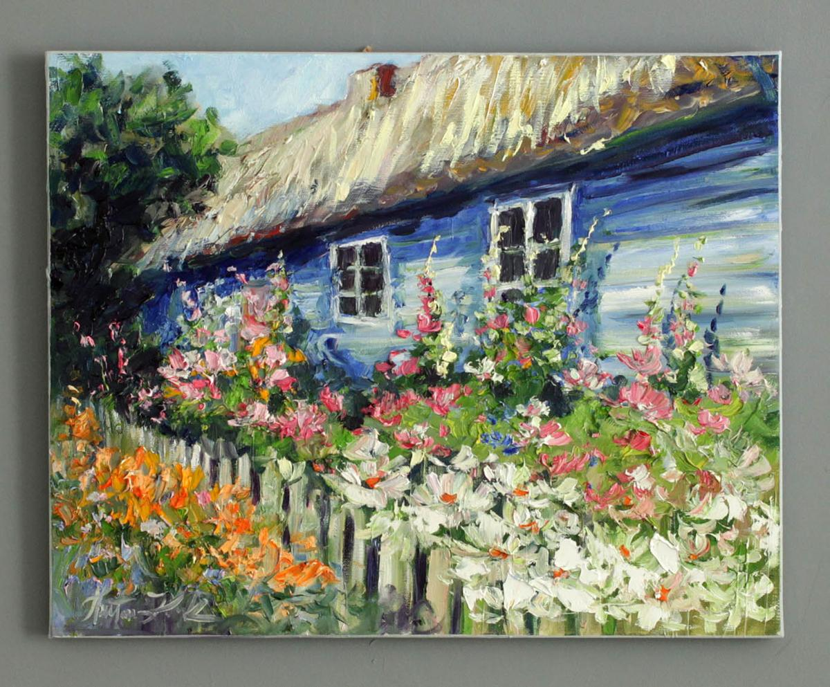 Niebieski domek