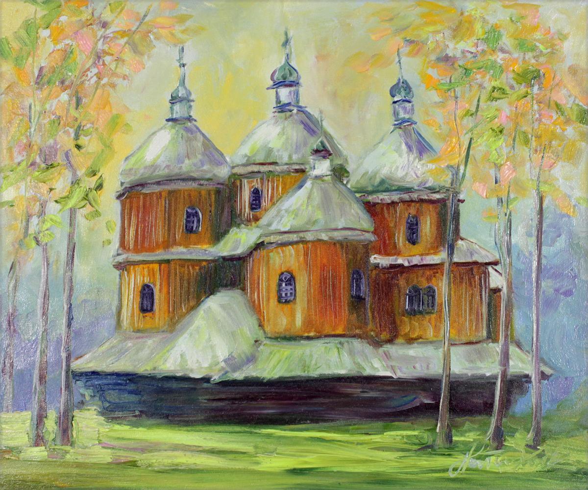 Nieistniejąca cerkiew w nieistniejącej wsi Beniowa - Bieszczady