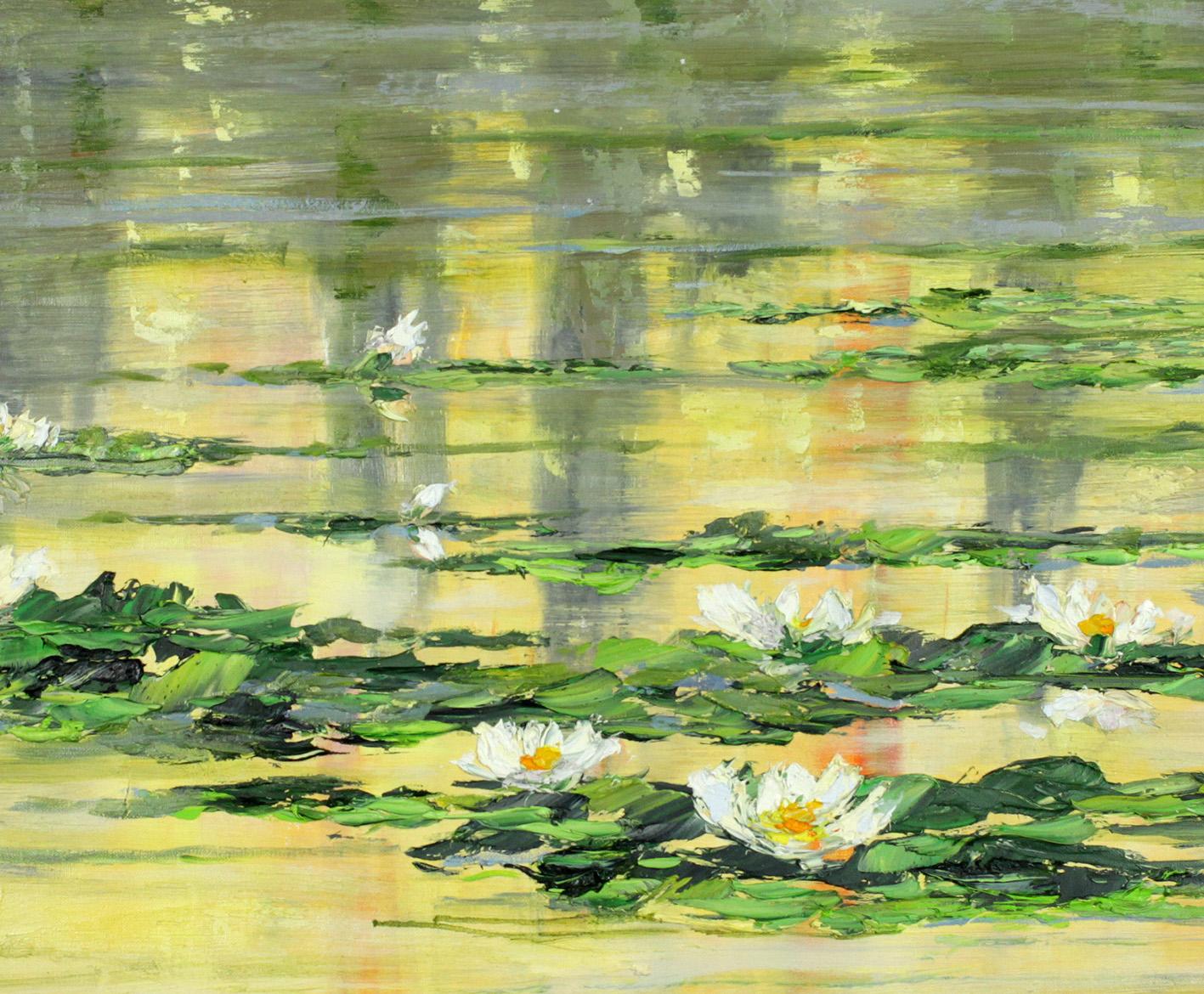 Lilie na wodzie