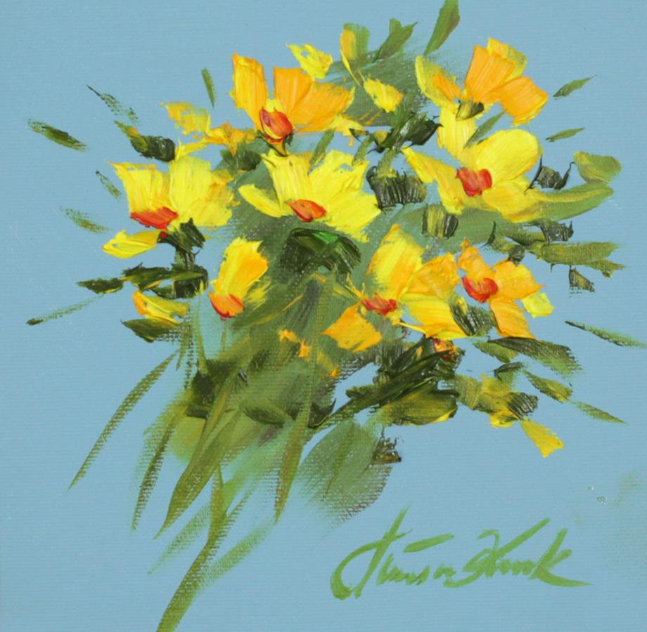 Bukiecik żółty