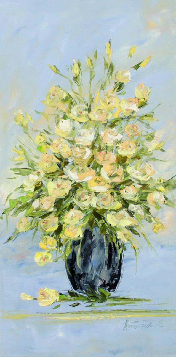 Róże w wazonie II
