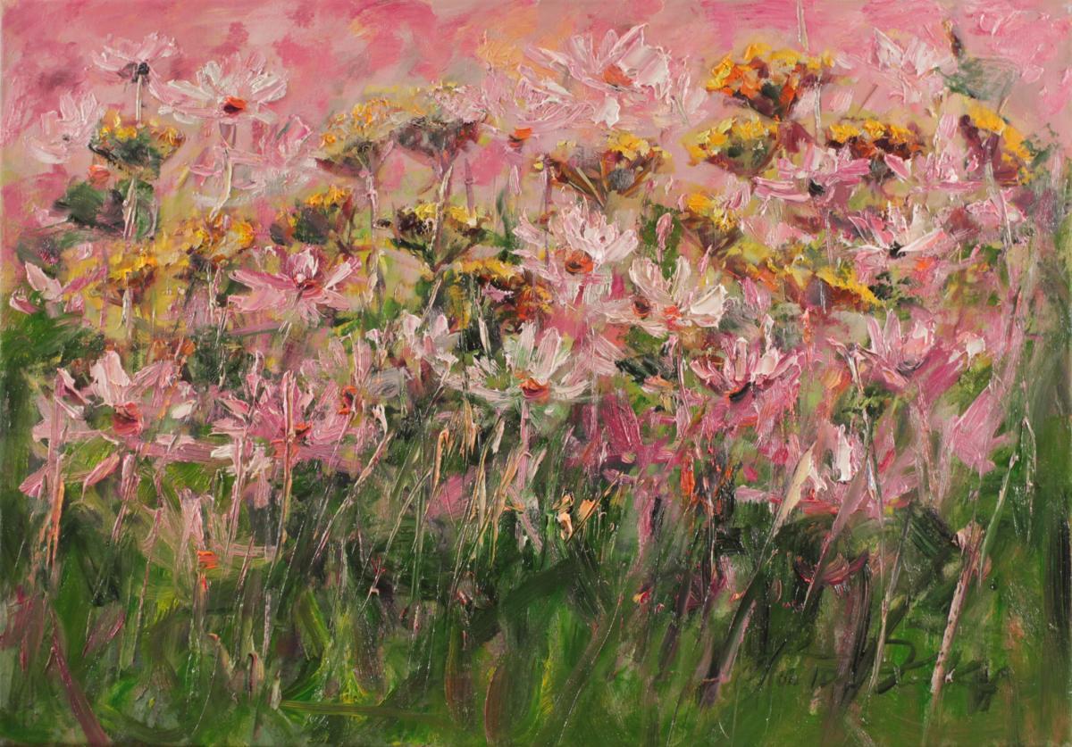 Kwiatowy kawaleczk ogrodu