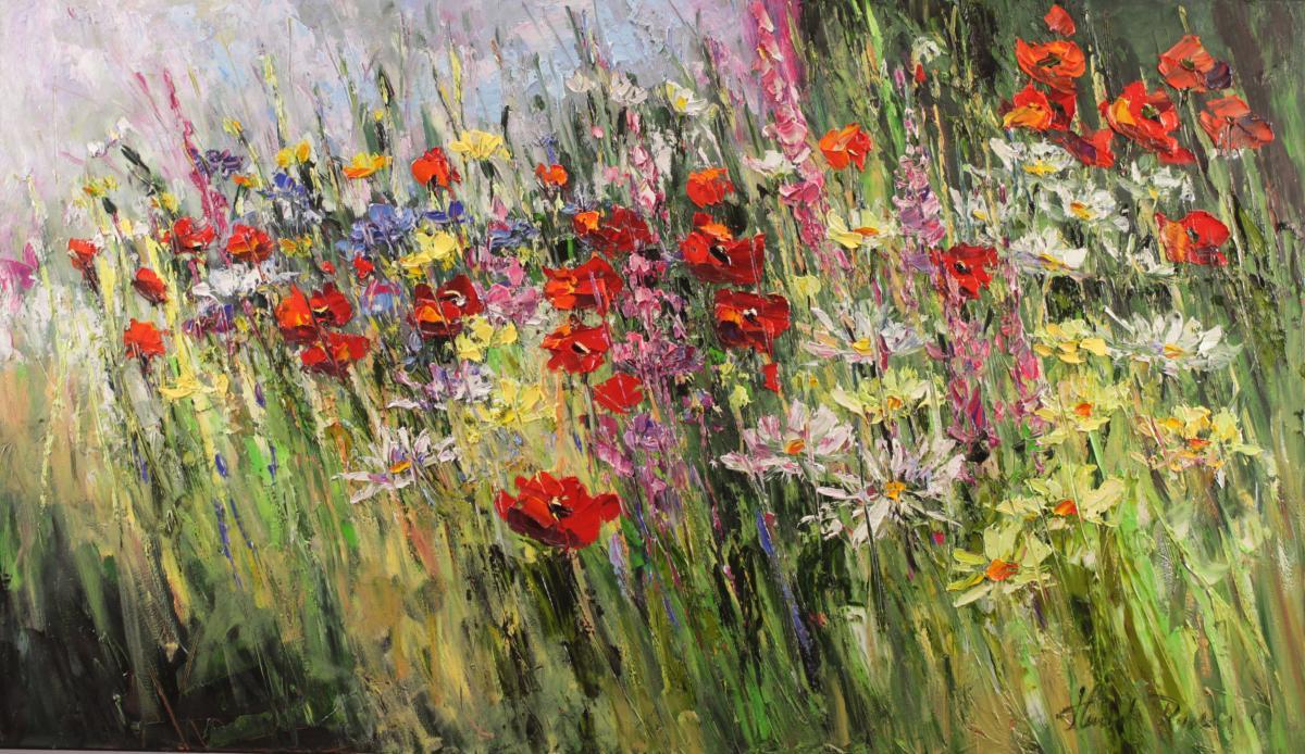Kwiaty łaki majowej