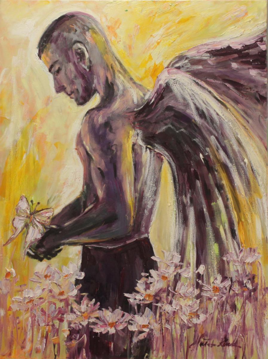 Anioł z motylem II