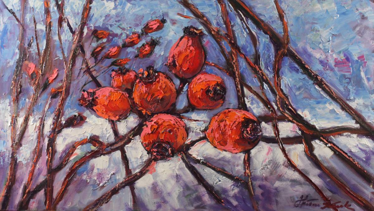 Owoc dzikiej rozy